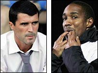 Roy Keane and Paul Ince