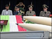 Иранское руководство на военном параде