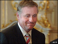 Премьер-министр Чехии Мирек Тополанек