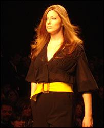 Model in Milan