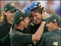 Australia team shot