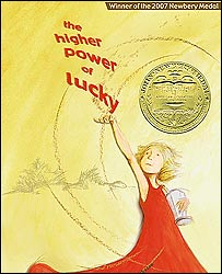 Cover of The Higher Power of Lucky