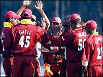 Windies team shot