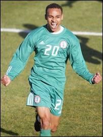 Nigerian striker Osaze Odemwingie