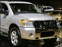 Nissan titan truck