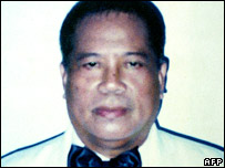 Filipino newspaper editor Hernani Pastolero (file)