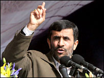 Mahmoud Ahmadinejad (file picture)