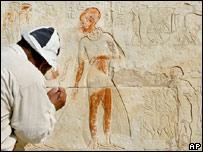Butler's tomb in Saqqara