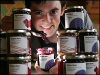 Fraser Doherty with jam
