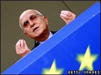 EU Environment Commissioner Stavros Dimas