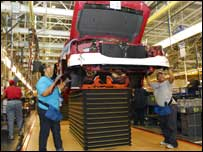 Ford built a modern truck plant on the site of River Rouge, employing 6000 workers