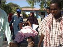 Victims of violence in Somalia