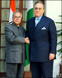 Pranab and Kasuri