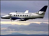 A Highland Airways aircraft