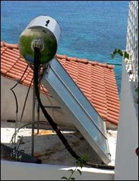 Solar panel. Image: BBC