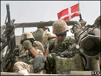 Danish troops in Iraq