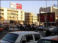 Tehran street scene. Photo: Phillip Schmandt