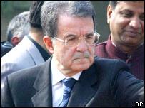 Italian Prime Minister Romano Prodi (file image)