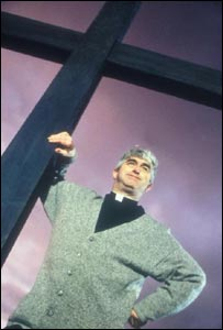 Dermot Morgan,  Father Ted - Channel 4 Four Publicity