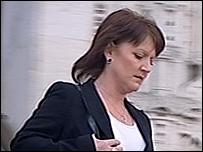 Angela Casa leaving court