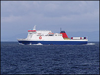 Steam packet ferry