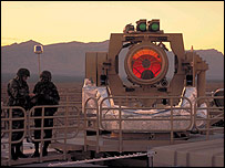 Tactical High Energy Laser   Image: Northrop Grumman