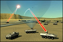 Artist's impression of future laser capabilities  Image: US Army