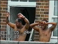 21 July suspects in Dalgarno Gardens, north Kensington