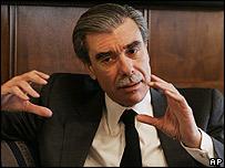 Secretario de Comercio de EE.UU., Carlos Gutiérrez.