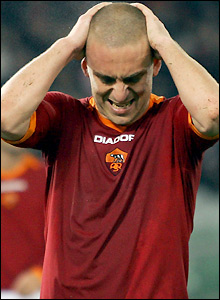 Roma's Daniele De Rossi rues a missed opportunity