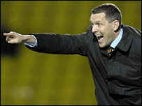 Watford manager Aidy Boothroyd