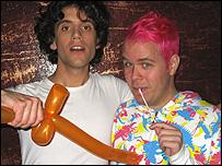 Mika and Perez Hilton