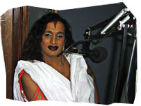 Laxmi, an Indian Hijras, or transsexual