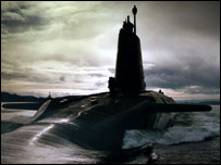 British nuclear submarine