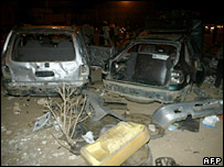 Cars vandalised in Senegal attacks