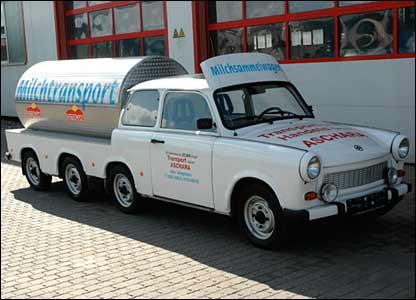Trabant milk tanker