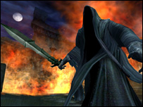 Screenshot from Lord of the Rings Online, Codemasters