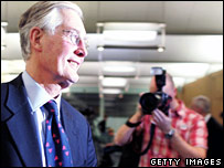 Michael Meacher announces his intention to stand