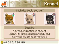 Nintendogs for the Nintendo DS