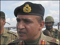 Major General Azhar Ali Shah