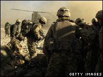 British Marines in Afghanistan