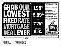 Halifax 1.99% mortgage advert