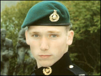 Royal Marine Jonathan Holland