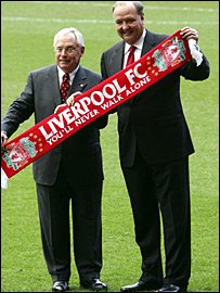 Liverpool's new owners George Gillett and Tom Hicks