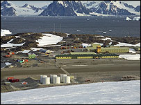 Rothera research station (Image: BAS)