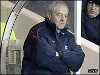Rangers boss Walter Smith