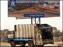 Dakar scene
