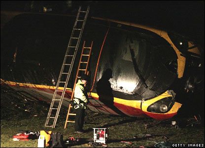 The derailed Virgin train