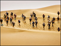 The Marathon des Sables 2006 (Pic by Pierre-Emmanuel Rastoin)