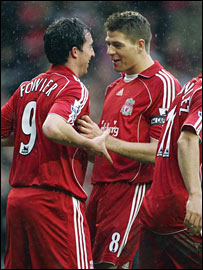 Robbie Fowler and Steven Gerrard